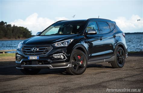 2016 Hyundai Santa Fe by 2016 Hyundai Santa Fe Sr Review Performancedrive