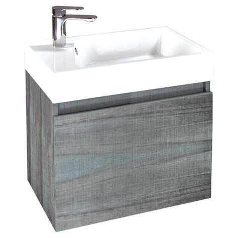 wall hung bathroom sink buy verve 60 wall hung bathroom sink unit and basin