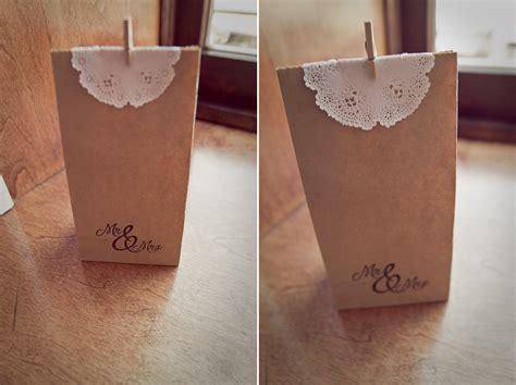 How To Make Paper Goody Bags - diy paper bag wedding favors