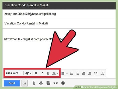 Search Craigslist By Email Address How To Email On Craigslist 6 Steps With Pictures