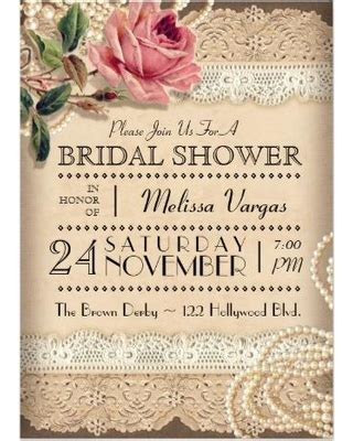 when should bridal shower invitations be mailed great deals on vintage bridal shower invitations