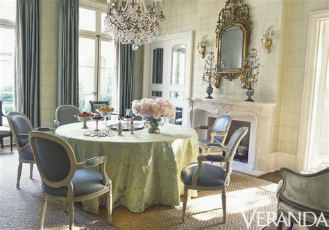 Veranda Magazine Dining Rooms by Green One Of The Prettiest Colors There Is Winterthur