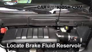 Service Brake System 2009 Acadia Interior Fuse Box Location 2007 2013 Gmc Acadia 2009