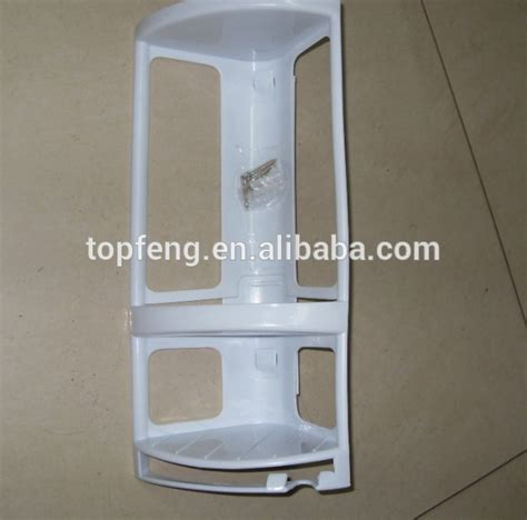 corner mounted shower caddy plastic bathroom shelf