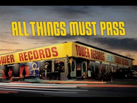 all things trailer all things must pass trailer