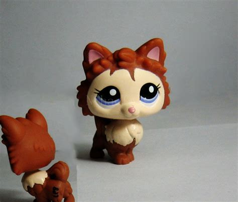 lps pomeranian littlest pet shop lps 2280 pomeranian brown figure toys ebay
