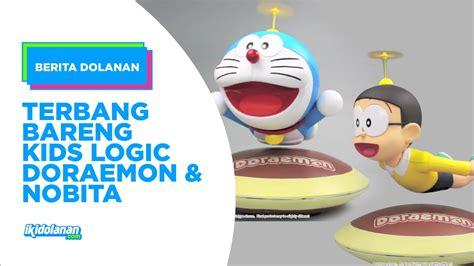 tutorial menggambar doraemon dan nobita terbang bareng kids logic nobita dan doraemon youtube