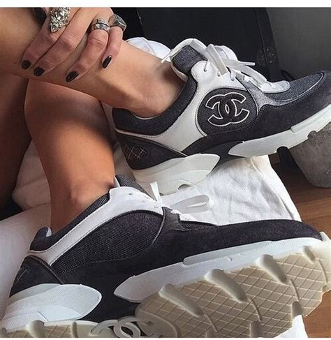 chanel mens trainer sneakers 2015 chanel cc white gray black sneakers tennis shoes