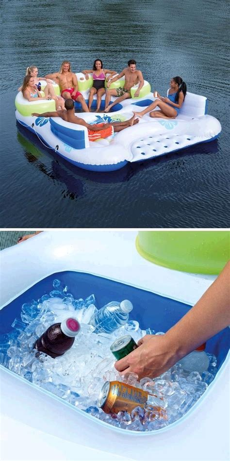 inflatable boats for sale at costco 1000 ideas about inflatable island on pinterest lake