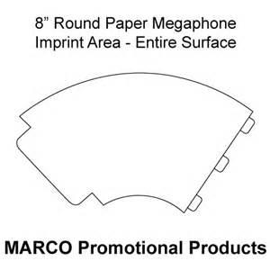 cheer megaphone template paper megaphone pesquisa perifoneo