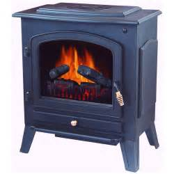 stonegate 174 electric fireplace heater with remote black