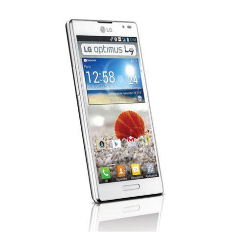 mobile l9 lg optimus l9 blanc mobile smartphone lg sur ldlc