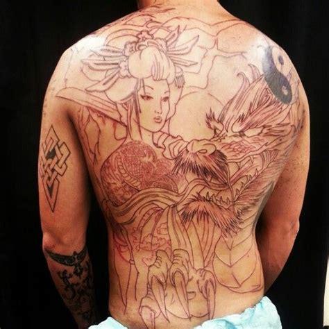 tattoo geisha full back 12 best back tattoo ideas images on pinterest geishas