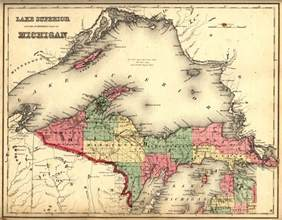 Map Of Michigan Upper Peninsula by Michigan Upper Peninsula Metadata