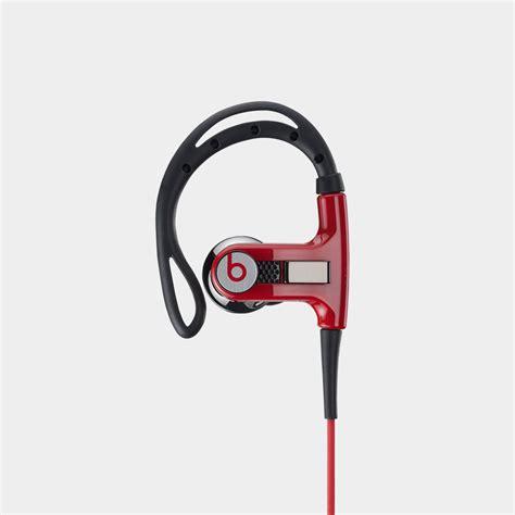 Earphone Powerbeats beats by dr dre powerbeats ear hook headphones black ebay