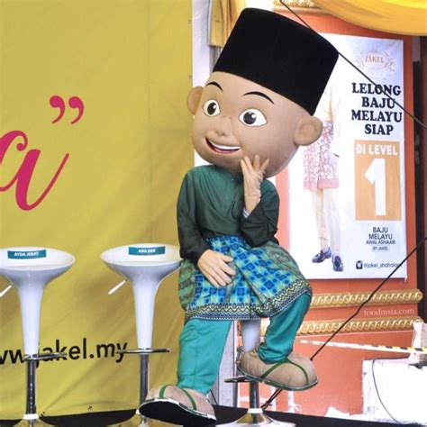 Baju Raya Jakel Upin Ipin jakel barulah raya with ambassadors wisma jakel shah alam food malaysia