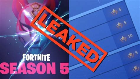 fortnite challenges for season 5 fortnite challenges for week 8 of season 5 leaked