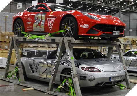acl airshop provides vra car racks for air transport of cars vehicles and automobile freight