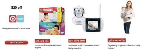 Target Baby Sale Gift Card - target baby sale gift card offers 20 of 100 and more the savvy bump