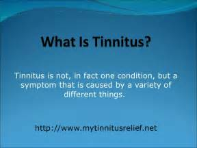 what is what is tinnitus