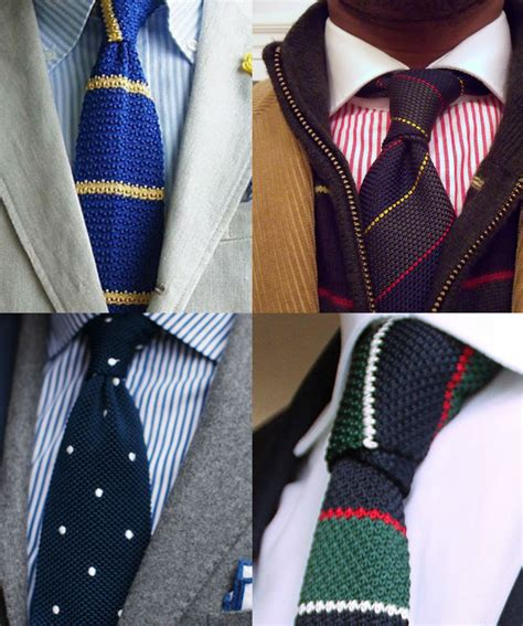 how to knit a tie knitted ties for a royal and regal finish
