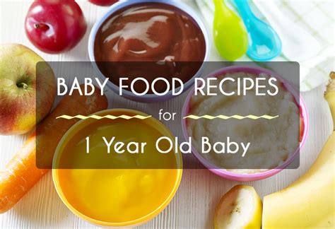 1 Year Baby Food - 1 year baby food recipe food ideas