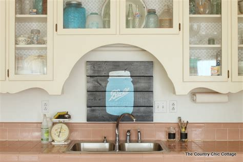 Decorating A Small Space On A Budget by Rustic Farmhouse Kitchen Decor The Country Chic Cottage