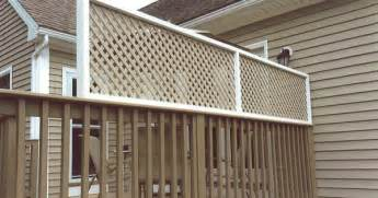 deck privacy lattice adding a lattice privacy screen to existing deck railing