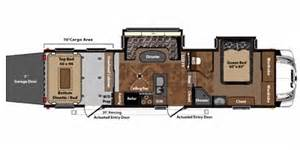 fuzion hauler floor plans 2011 keystone fuzion 302 trailer reviews prices and