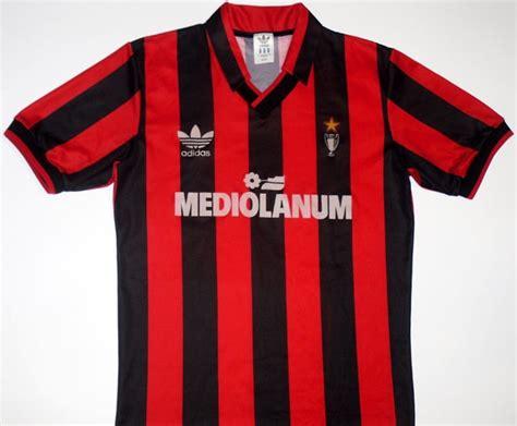 Jersey Ac Milan Home 1991 ac milan my soccer universe
