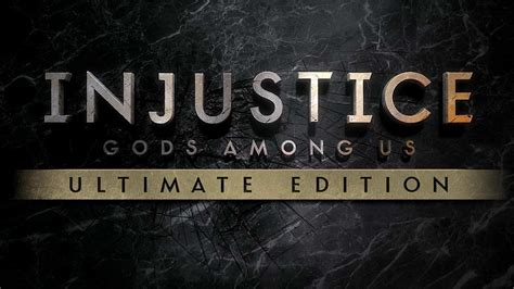 Injustice Gods Among Us Ultimate Edition Reg 1 injustice gods among us ultimate edition rgm matrix