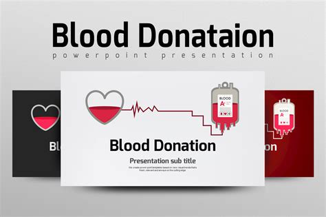 ppt templates free download blood blood donation ppt by goodpello design bundles