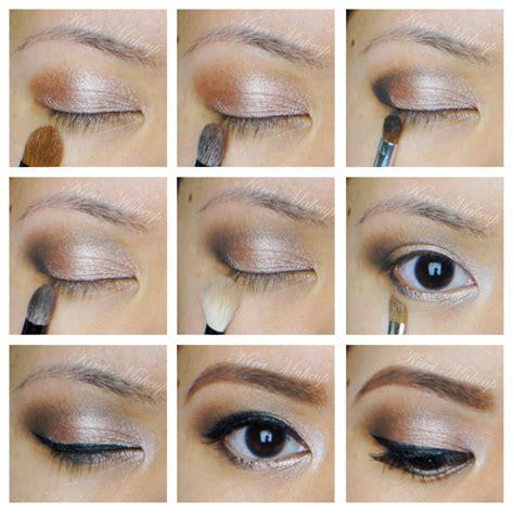 eyeshadow tutorial urban decay 3 neutral smokey eyes using urban decay naked palette