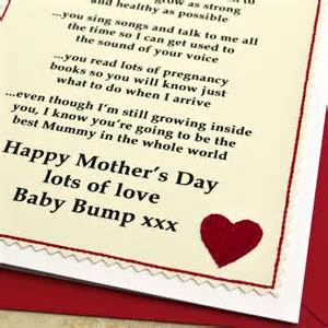 new mummy pregnancy mothers day card by arnott cards gifts notonthehighstreet