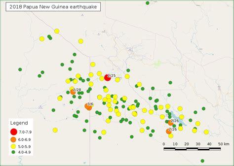 Papua New Guinea Fastis 2018 File Map Of 2018 Papua New Guinea Earthquake Svg