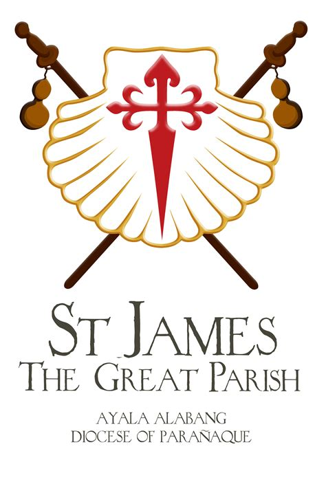 Superb Greater New Life Church #2: St-James-The-Greater-Logo-V-new.png
