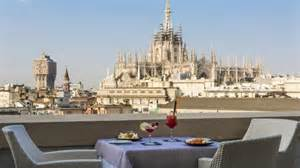 Milano terrace cathedral views an exceptional position from which to