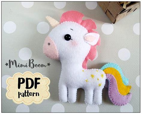 felt horse pattern pdf best 25 unicorn pattern ideas only on pinterest my
