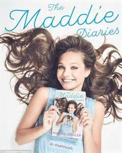 maddie ziegler unveils the cover for her upcoming memoir daily mail online