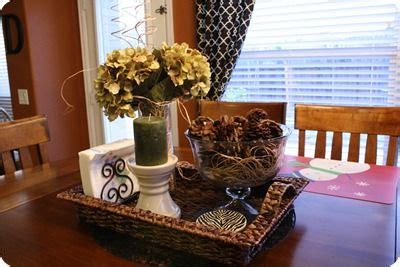 Ideas For Kitchen Table Centerpieces Kitchen Table Centerpiece It Decor Ideas Color Black Shape And Kitchen