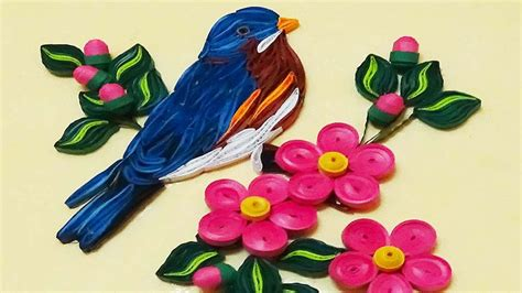 How To Make Quilling Paper - quilling designs birds www pixshark images
