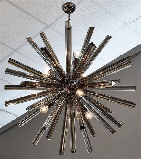 Black Sputnik Chandelier Murano Glass Black Sputnik Chandelier For Sale At 1stdibs