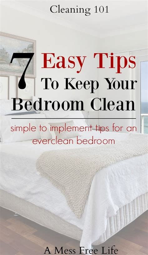 How To A Clean Bedroom by Best 25 Bedroom Cleaning Ideas On