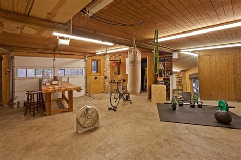 Best Garage Designs by Diy Home Gym With Household Items Hungry And Fit