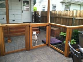 Front Yard Fencing Options - pet friendly portland landscaping designs portland landscaping company
