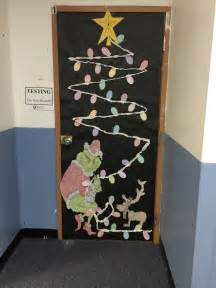 Decorating Ideas For How The Grinch Stole How The Grinch Stole Classroom Door Door