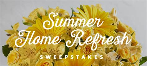 Real Simple Holiday Sweepstakes - summer home refresh sweepstakes real simple