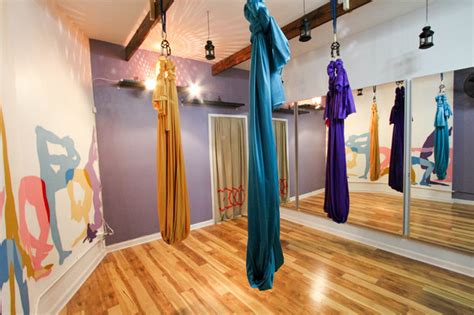 yoga bed stuy wind down with aerial yoga and candlelit wine classes at