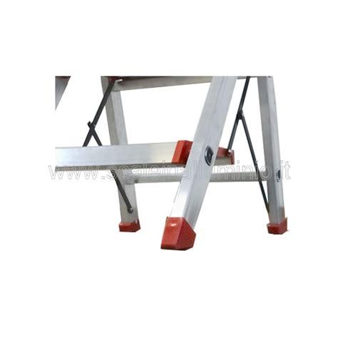 sgabelli alluminio scale in alluminio sgabello kubo 4 gradini