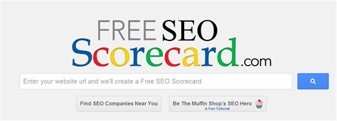 Best Search Engine To Find Free Find Out Your Site S Seo Score With Freeseoscorecard Seo